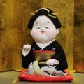 源慶作 お福さん(新波) 後藤博多人形(株)