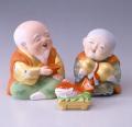 後藤博多人形 長寿の祝酒