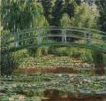 モネ [Japanese Footbridge, Giverny]