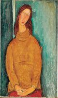 モディリアーニ [Portrait of Jeanne Hebuterne]