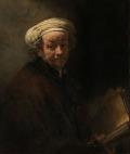 レンブラント [Self portrait as the apostle Paul]