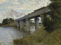 モネ [The Railroad bridge in Argenteuil]