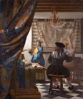 フェルメール [The artist painting]