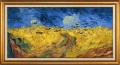 ゴッホ「烏の群れ飛ぶ麦畑」・立体仕上げ【原寸サイズ:特別仕様版】