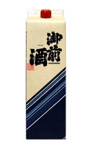 御前酒 佳撰パック - 1800ml
