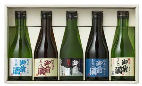 御前酒 飲みくらべセット(300ml×5本入)