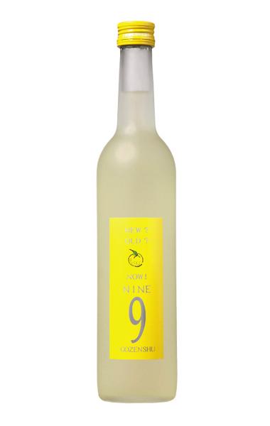 GOZENSHU9(NINE) ゆず酒 イエローボトル - 500ml