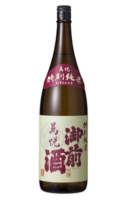 特別純米 萬悦(まんえつ) - 1800ml