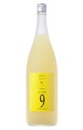 【7/1再出荷開始】GOZENSHU9(NINE) ゆず酒 イエローボトル - 1800ml