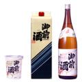 岡山の日本酒、パック酒