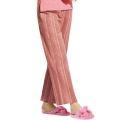 涼やかしじら織りゆったりパンツ ピンク
