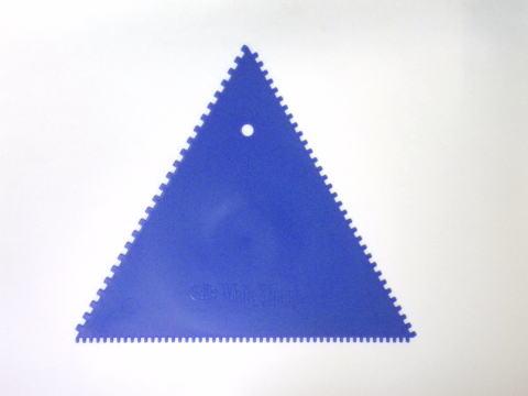 三角コーム