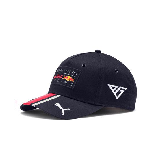 【再入荷】2019 PUMA ASTON MARTIN REDBULL RACINGレッドブル P.ガスリー ドライバーズキャップ(ベースボールタイプ)
