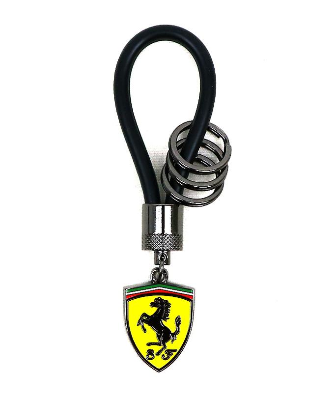 フェラーリ SF ラバーストラップ キーリング(キーホルダー)