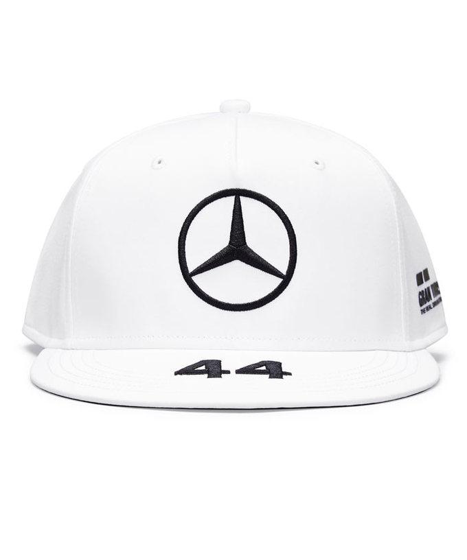 2021-2020(継続商品)MERCEDES メルセデスF1 チーム L.ハミルトン ドライバーズキャップ(FLAT)ホワイト