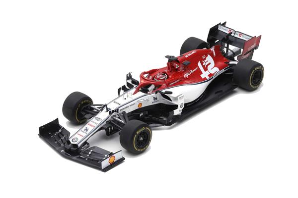 スパーク 1/18 アルファロメオC38 K.ライコネン 2019年オーストラリアGP No.7