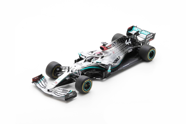 スパーク 1/18 メルセデスW11 L.ハミルトン 2020年バルセロナテスト No.44