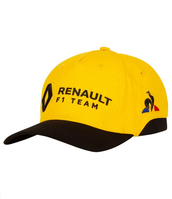 2019 ルノー F1チーム チームキャップ イエロー