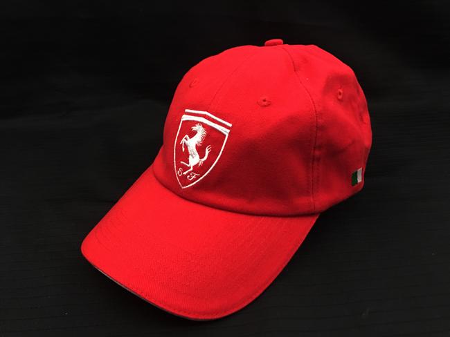フェラーリ(FERRARI F1) F1パドッククラブ ゲスト用 SFキャップ レッド SFホワイト