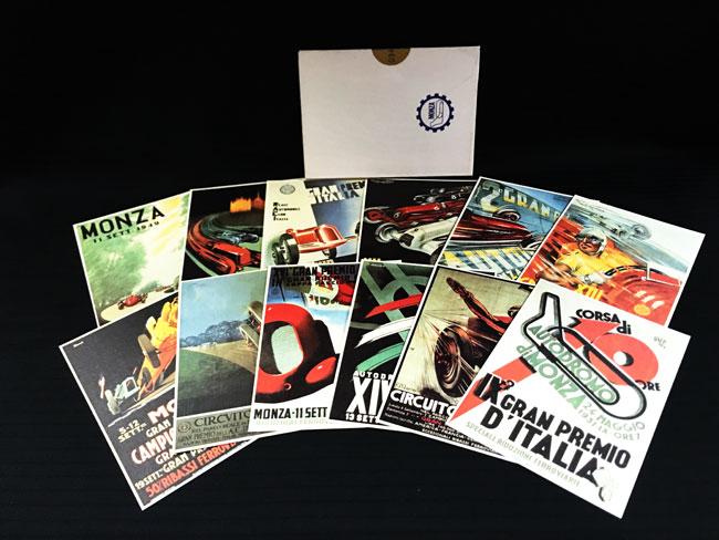 モンツァ・サーキット 限定公式ポストカード12枚セット