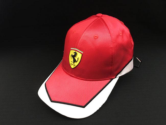 フェラーリ(FERRARI F1) F1パドッククラブ ゲスト用 SFキャップ レッド×ホワイト