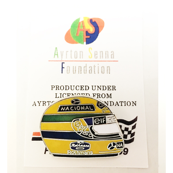 アイルトン・セナ 1994ヘルメット ピンバッチ タイプA