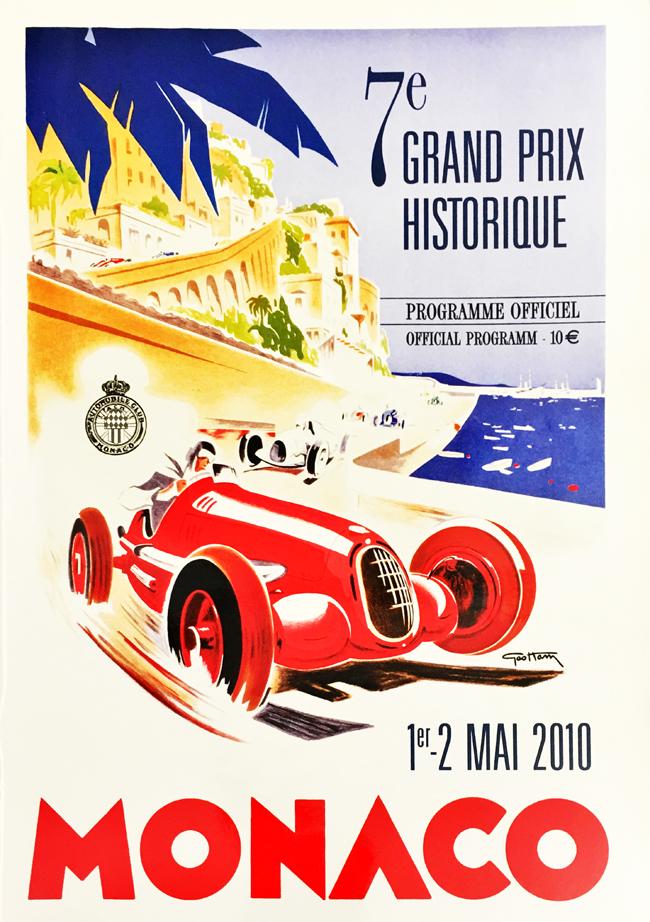 F1公式プログラム 2010 モナコ ヒストリックF1GP