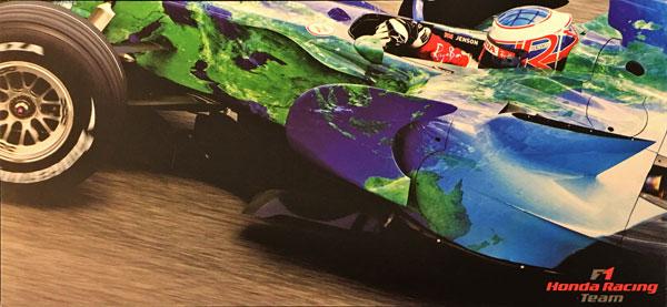 2007 HONDAF1Racing(ホンダ F1レーシング) J. バトン ドライバーズカード