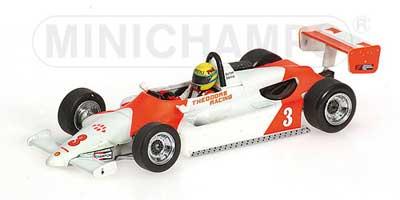 ミニチャンプス 1/43 ラルト RT3 トヨタ 1983マカオGP ウィナー セナ