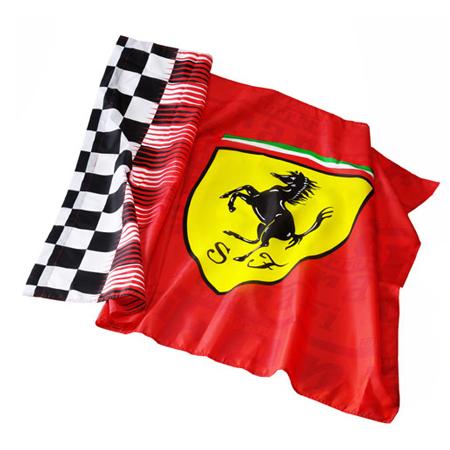 フェラーリストア限定 フェラーリ スクデット フラッグ レッド