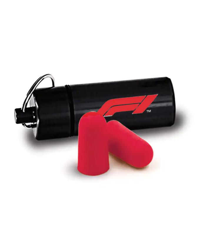 Formula1(F1公式)ロゴイヤープラグ(耳栓)