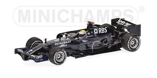 1/43 AT&T ウィリアムズ FW30 N.ロズベルグ バルセロナ テスト(2008年2月25~27日)
