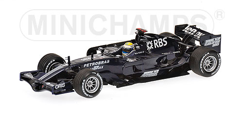 1/43 AT&T ウィリアムズ FW30 N.ロズベルグ バレンシアテスト  (2008年1月21~24日)