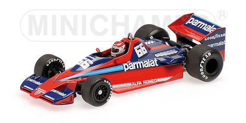 ミニチャンプス  1/43 ブラバム アルファ ロメオ BT46 N. ピケ カナダGP 1978