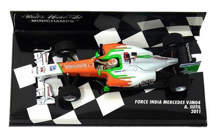 1/43 フォースインディア F1 チーム VJM04 A.スーティル 2011本戦