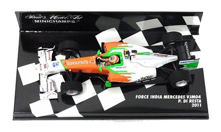 1/43 フォースインディア F1 チーム VJM04 P.ディレスタ 2011本戦