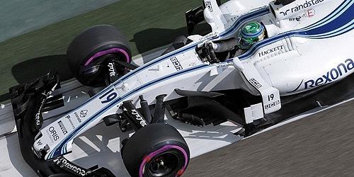 ミニチャンプス 1/43 ウィリアムズFW40 F.マッサ 2017年アブダビGPラストレース