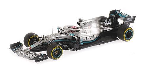 ミニチャンプス 1/43 メルセデス W10 L.ハミルトン 2019年中国GP優勝