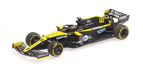 ミニチャンプス 1/43 ルノー F1 R.S.20 E.オコン 2020 シーズン ローンチエディション
