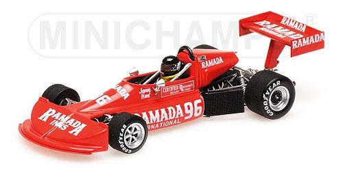 ミニチャンプス 1/43 マーチ フォード 76B コスワース ジェームス・ハント フォーミュラ アトランティックトロワリヴィエール パークGP 3位入賞 1976