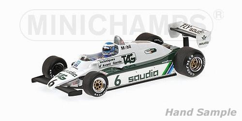 ミニチャンプス 1/43 ウィリアムズ FW08 K.ロズベルグ 1982年ワールドチャンピオン