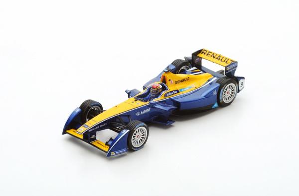 スパーク 1/43 ルノー e.ダムス フォーミュラE S.ブエミ No.9 シーズン2 (2015-2016) チャンピオン