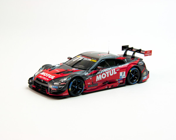 エブロ 1/43 スーパーGT2015 モチュールオーテック MOTUL AUTECH GT-R SUPER GT500 2015 Champion Car No.1
