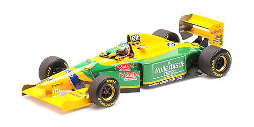 ミニチャンプス 1/18 ベネトン フォード B193 M.シューマッハー 1993年カナダGP2位