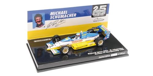 ミニチャンプス 1/43 レイナード スピース F893 M.シューマッハー ドイツ F3 チャンピオンシップ 1989