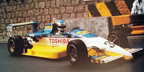 ミニチャンプス 1/43 レイナード スピース F893 M.シューマッハー 1989年マカオGP 予選レース優勝