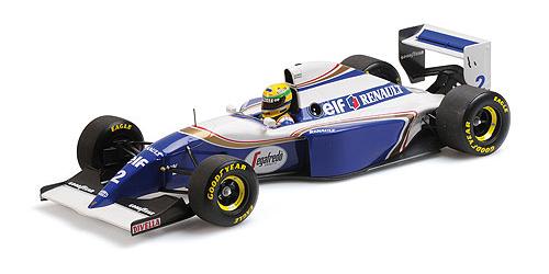 ミニチャンプス 1/18 ウィリアムズ ルノー FW16 A.セナ ポールリカール テスト 1994年2月28日 PMA特注品