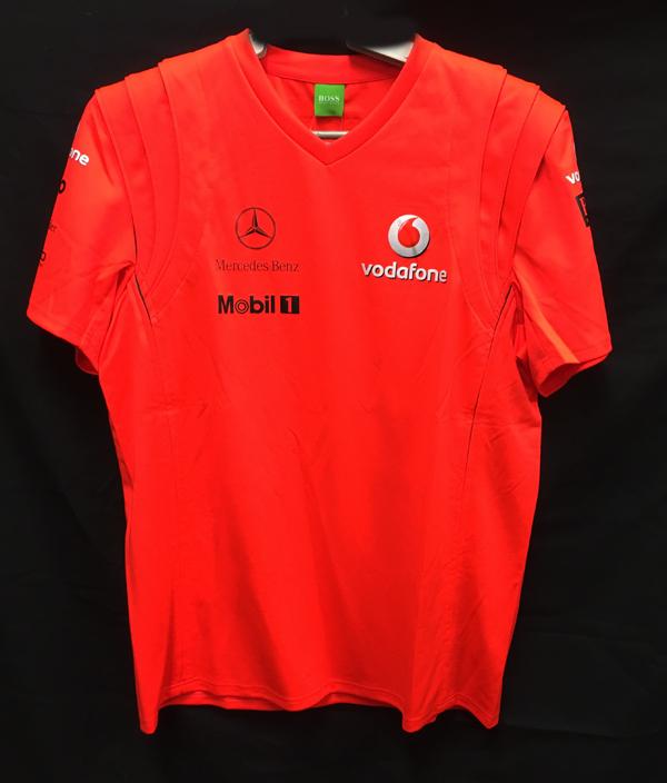 【SALE】2007 マクラーレン チーム支給品 ビクトリーTシャツ サイズM 新品