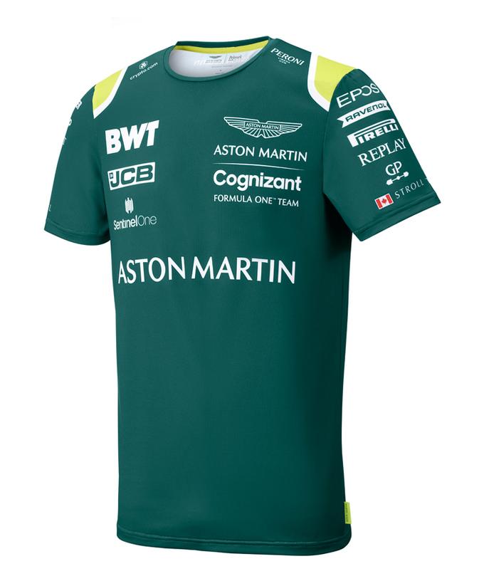2021 アストンマーティンF1チーム チームスポンサーTシャツ
