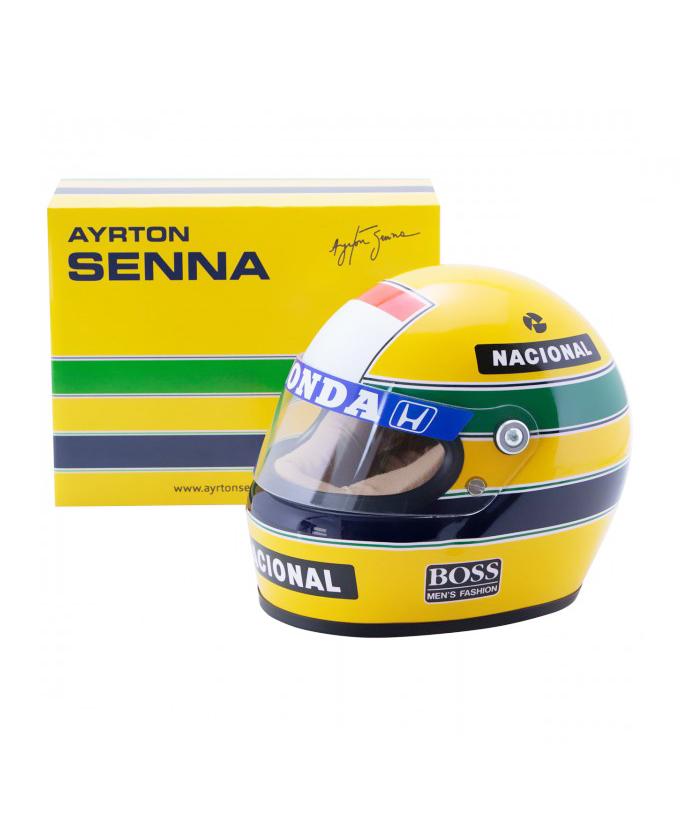 【再入荷】セナコレクション A.セナ 1/2 ヘルメット 1988年 マクラーレン・ホンダ
